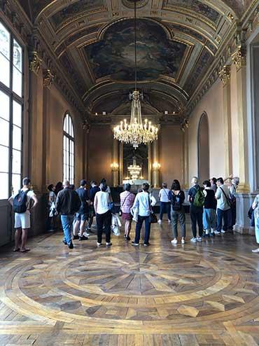 Photo du foyer du Grand Théâtre d'Angers