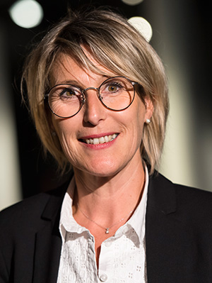Portrait de Gwénaëlle Maillard-Pilon,  directrice de Pôle Emploi Maine-et-Loire