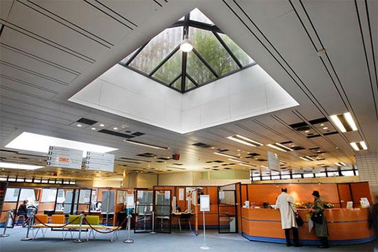 La rénovation du hall permettra d'améliorer les conditions d'accueil du public.