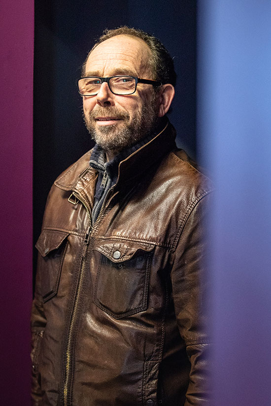 L'acteur Olivier Gourmet