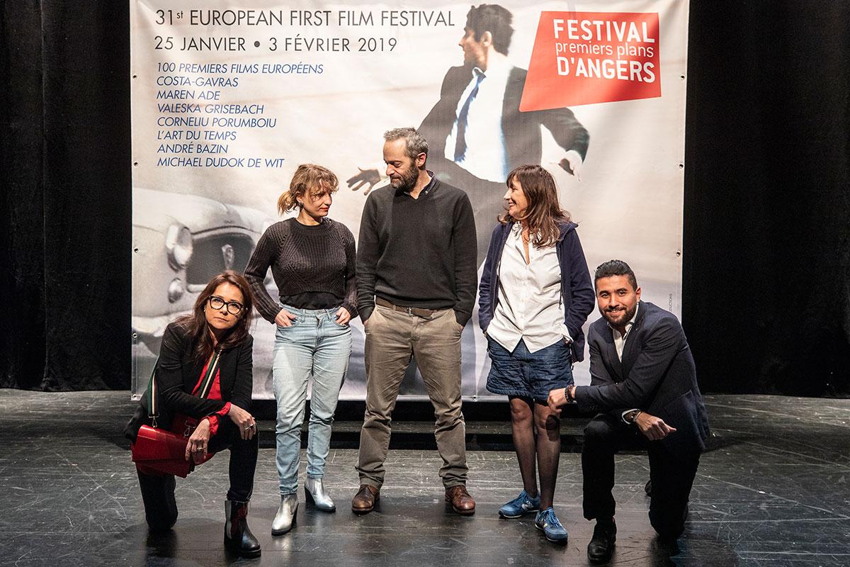 Le jury longs-métrages: Sidse Babett Knudsen, Léa Mysius, Cédric Kahn, Syvlie Pialat, Amine Bouhafa.