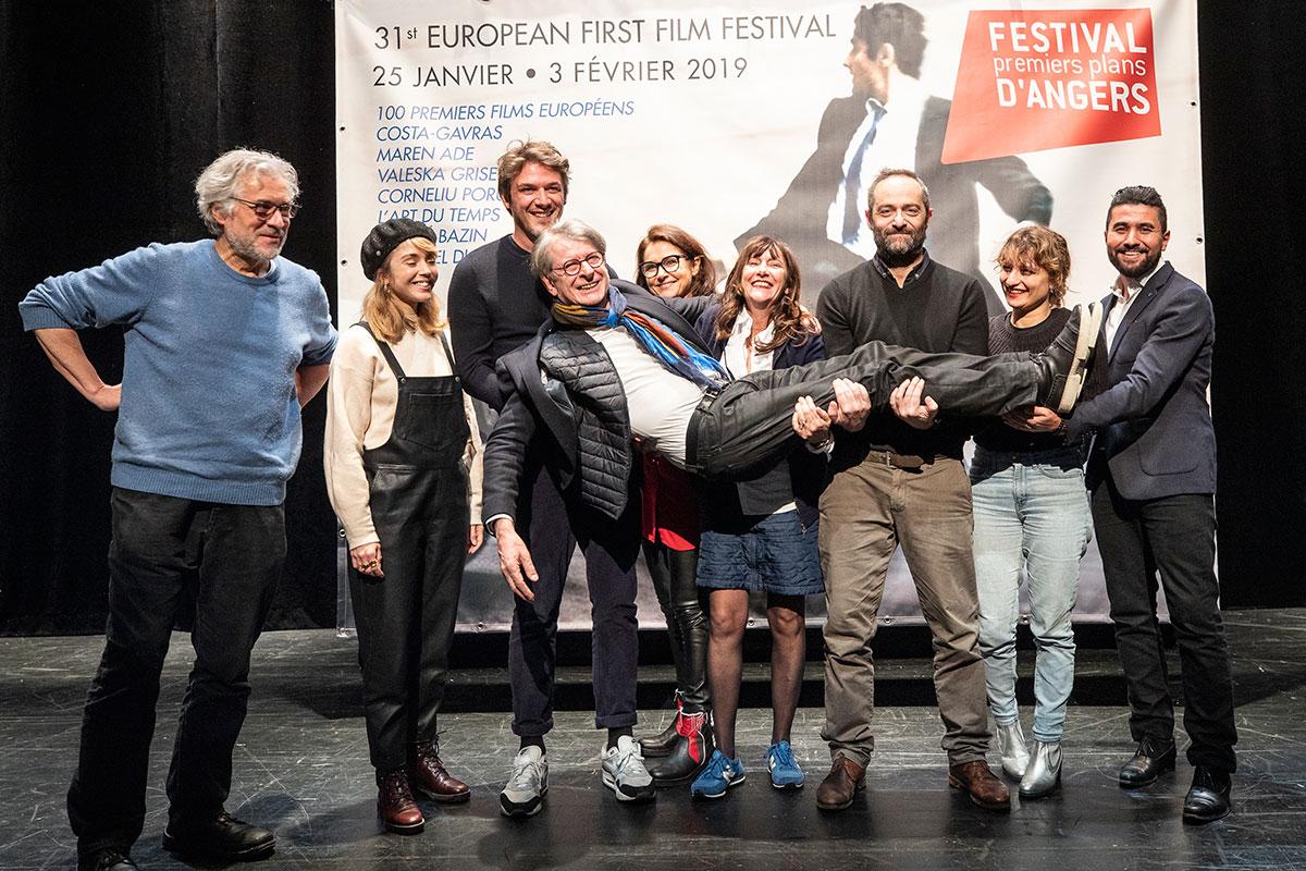 Les jurys courts et longs-métrages avec Claude-Eric Poiroux, délégué général du festival.