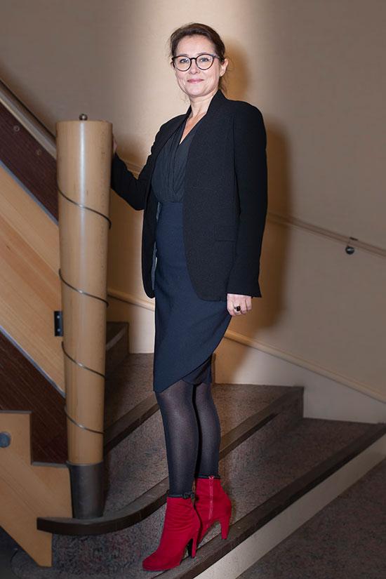 Sidse Babett Knudsen, actrice danoise et membre du jury longs-métrages.