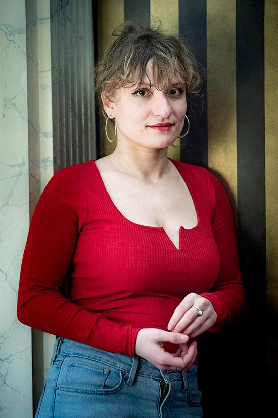 Léa Mysius, membre du jury longs-métrages.