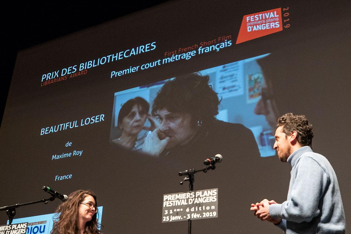 Prix des bibliothèques, courts-métrages français: Beautiful loser, de Maxime Roy.