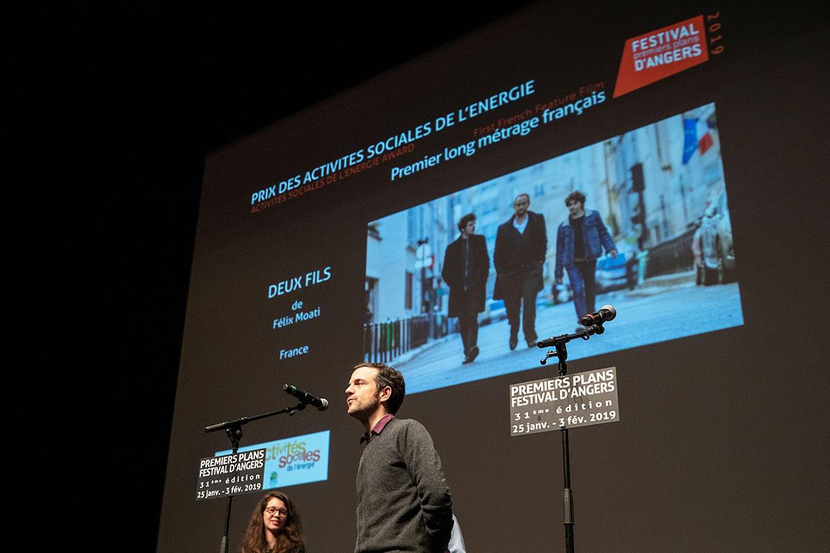 Prix des activités sociales de l'énergie, longs-métrages français: Deux Fils, de Félix Moati.