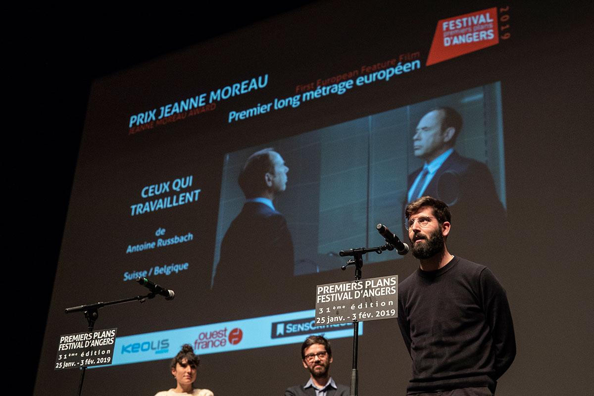 Prix du public Jeanne Moreau, longs-métrages européens: Ceux qui travaillent, d'Antoine Russbach.