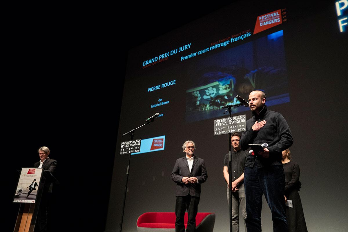 Grand prix du jury, courts-métrages français: Pierre rouge, de Gabriel Buret.