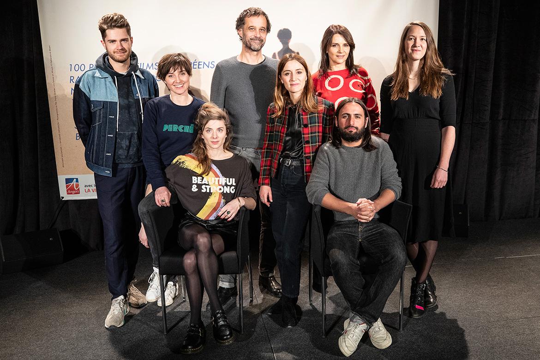Les membres des jurys courts et longs-métrages.