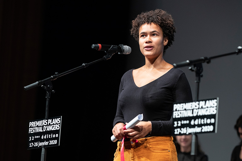 """Chloé Léonil, réalisatrice de """"Plaqué or""""."""