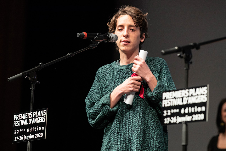 """Gaspar Chabaud, réalisateur de """"Tête de linotte!""""."""