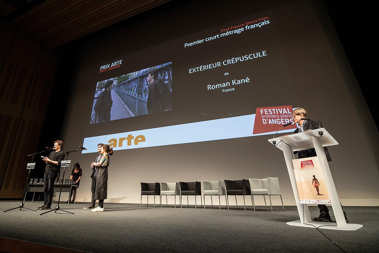 """Prix Arte - Premier court-métrage français: """"Extérieur crépuscule"""", de Roman Kané."""
