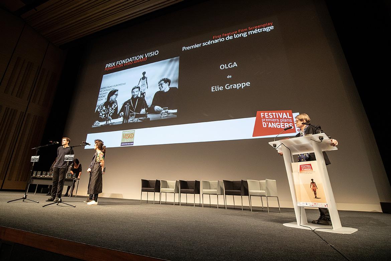 """Prix fondation Visio - Premier scénario de long-métrage: """"Olga"""", de Elie Grappe."""