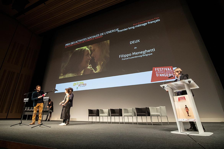 """Prix des activités sociales de l'énergie - Premier long-métrage français: """"Deux"""", de Filippo Meneghetti."""