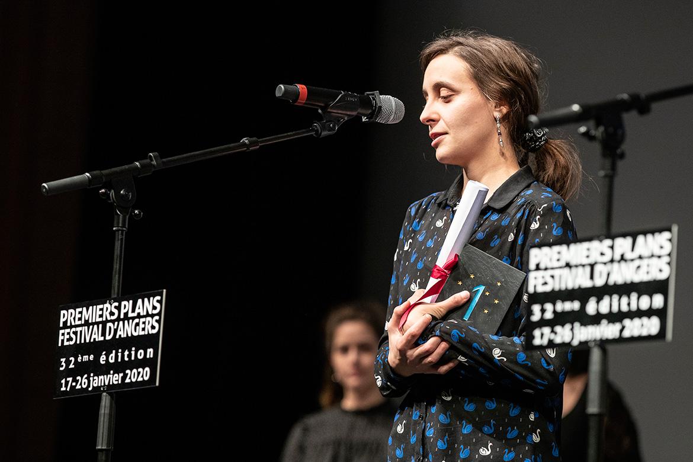 """Maïté Sonnet, réalisatrice de """"Massacre""""."""