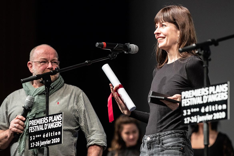 "Nadja Andrasev, réalisatrice de ""Symbiosis""."