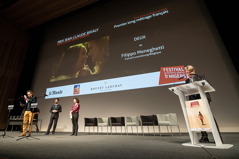 """Prix Jean-Claude Brialy - Premier long-métrage français: """"Deux"""", de Filippo Meneghetti."""