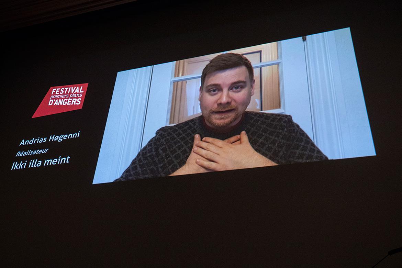 "Andrias Hogenni, réalisateur de ""Ikki Illa Meint""."
