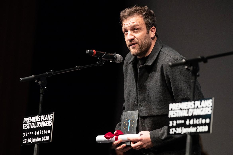 """Satya Dusaugey, prix d'interprétation masculine dans """"Un adieu""""."""