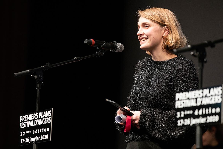 """Anne Brouillet, réalisatrice de """"Champs de bosses""""."""
