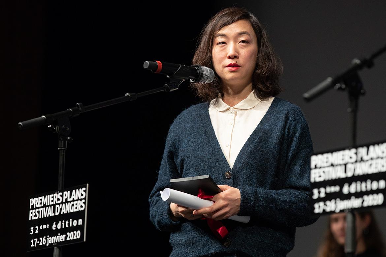 "Sung-A Yoon, réalisatrice de ""Overseas""."