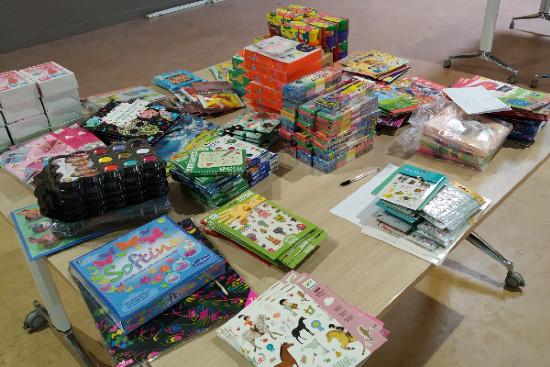 Photo des kits pédagogiques.