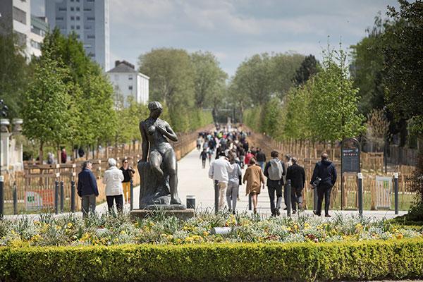 La nouvelle avenue Jeanne-d'Arc a été inaugurée