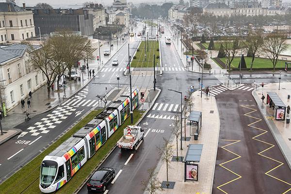 Une partie de la nouvelle ligne de tramway est en service