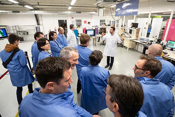 Electronique et IoT: le technocampus d'Angers inauguré