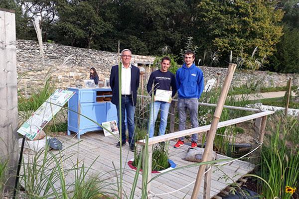 Jardins d'expression: l'ESA remporte les deux premiers prix