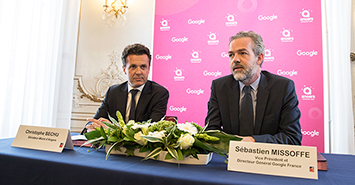 Image Angers signe un partenariat avec Google
