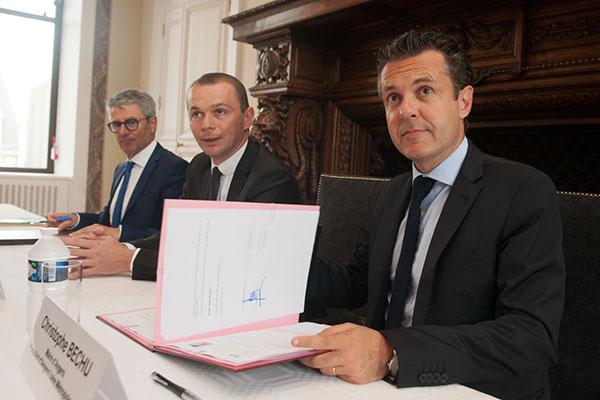 La Ville signe un pacte avec l'Etat pour limiter la dépense publique