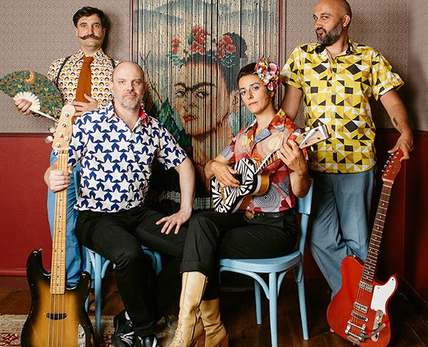 Photo du quatuor Passion Coco