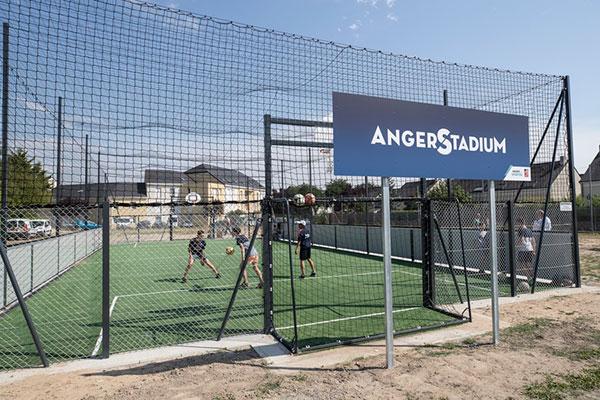 """Angers distinguée par les quatre lauriers du label """"ville active et sportive"""""""