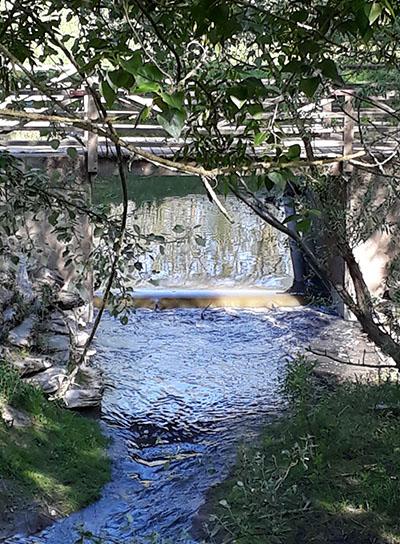 Photo de l'ouverture du barrage