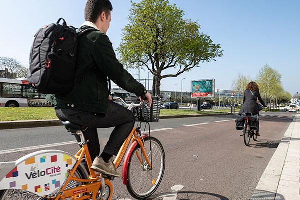 Un plan pour faire la part belle au vélo en ville