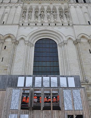 Photo portail de la cathédrale Saint-Maurice