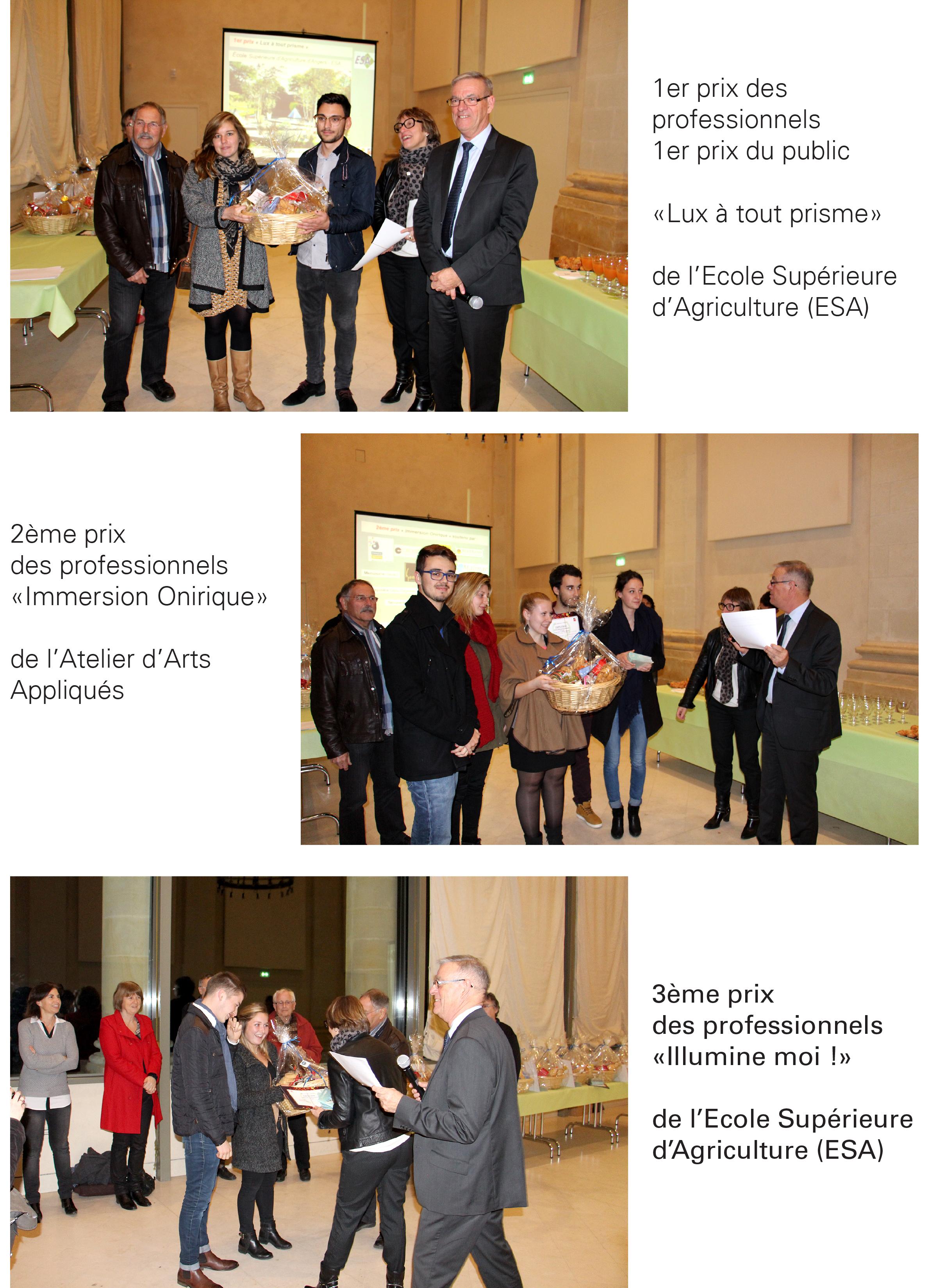 Les lauréats du concours Jardins d'expression