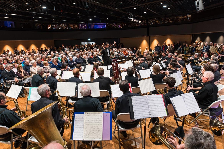 Des animations étaient proposées pendant tout le week-end, avec un concert de l'harmonie municipale dans la salle Grande Angle.