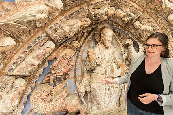 La restauration de l'exceptionnelle polychromie de la cathédrale est lancée
