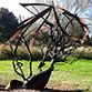 Image Trois arbres d'acier à découvrir au parc Balzac
