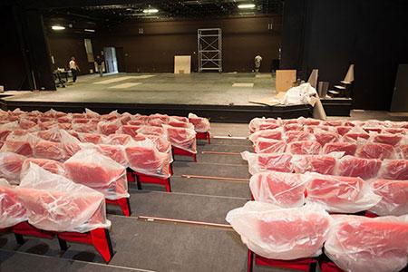 Le Théâtre Chanzy a fait peau neuve et rouvre bientôt. La salle de spectacles conserve ses 600 places dans un confort entièrement revu.