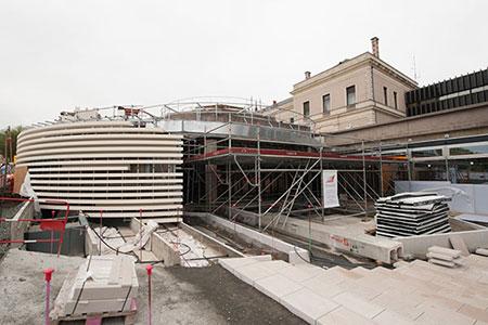 Le nouveau hall de l'hôtel de ville va ouvrir le 28 octobre.