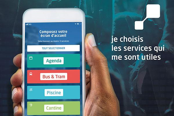 """Des services uniques et personnalisés avec l'appli """"Vivre à Angers"""""""