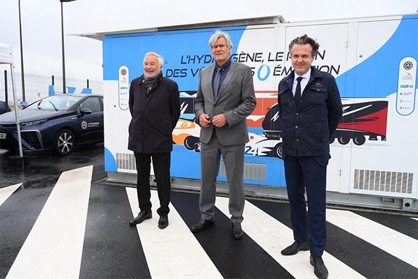 Angers Loire Métropole passe commande de bennes à hydrogène
