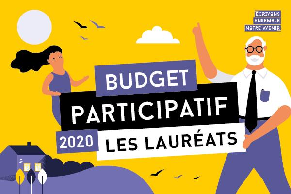 Découvrez les projets lauréats du budget participatif 2020