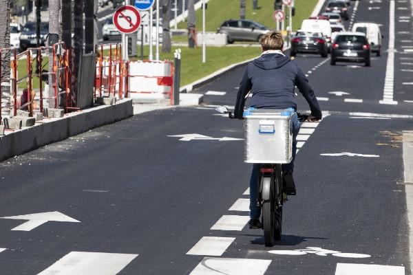 Accélération pour les aménagements de bandes cyclables