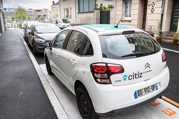 Deux nouvelles stations pour Citiz Angers