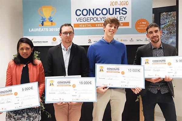 Concours Végépolys: deux start-up angevines récompensées