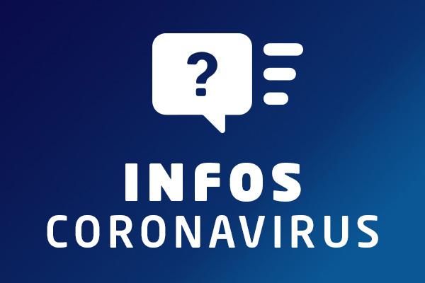 Coronavirus: les mesures liées à l'épidémie